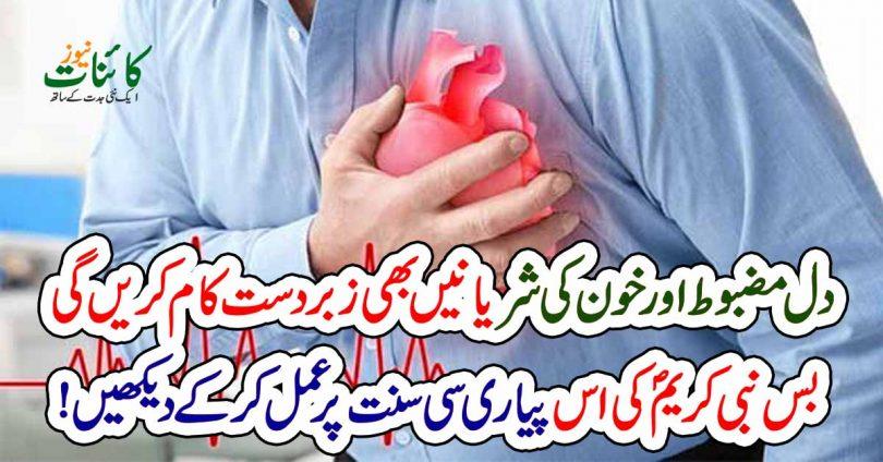 دل مضبوط اور خون