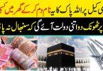 کسی بھی کیل پر اللہ پاک